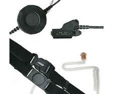 ARC T25045 Neck Strap Throat Mic for Motorola XTS MTX PR HT JT MT 2-Way Radios