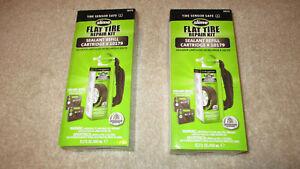 2 SLIME Flat Tire Repair . Sealant Refill Cartridge #10179