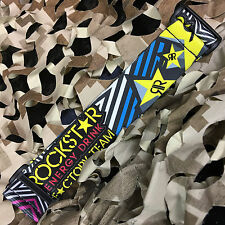 NEW KM Paintball Universal Mask Goggle Strap - 09 Rockstar Neon