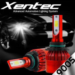 9005 6000K 2018 388W 38800LM DualSide LED Headlight Kit Hi Beam White Lamp Bulb