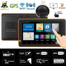"9"" Bluetooth WiFi Android Car Truck GPS Navigator FM Radio G-sensor Night Vision"