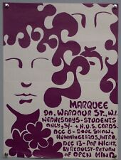 The Open Mind Psychedelic Rock Poster Original Marquee Club 1967