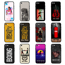 Personalised Glass Back Case for iPhone 6 6s 7 8 PLUS XS MAX XR SE 2020 / BOXING