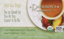 Earl Grey Tea, Davidsons Organics Tea, 100 tea bag