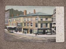 Turks Head & Westminster St., Providence, R.I.-Nice Storefronts, Used vintage