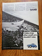 1968  SAAB V-4 Ad  Get a Lifetime Guarantee