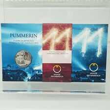 AUSTRIA 5 EUROS 2011 PLATA/PROOF - THE PUMMERIN BELL