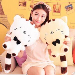 20CM Cute Kawaii Cat with Bow Plush Dolls Toys Gift Stuffed Soft Doll Cushion
