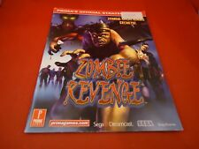 Zombie Revenge Sega Dreamcast Strategy Guide Player's Hint Book