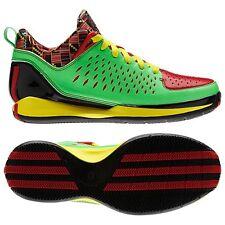 Adidas Rose 3.0 Low-Green Zest Light Scarlet Vivid Yellow G66425 Mens 14 Sharp!