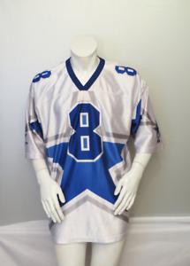 Dallas Cowboys Jersey by Starter Alternate Big Star Troy Aikman # 8 - Mens XL