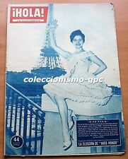 HOLA 794 MISS PARIS MARIA GALLAND Cover GRACE KELLY 2 Pg MISS WORLD 1959