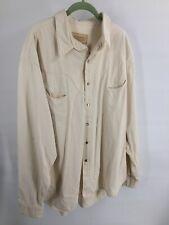 Schaefer Outfitter Pearl Snap Western Cowboy Shirt Size 2Xl