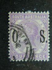1838 SOUTH AUSTRALIA SC O81 (SG O84 ) USED     CAT $10