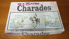 Vintage 1986 Sex Rated Charades Game