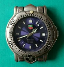 Men's TAG HEUER Chronometer Blue Dial  Automatic Watch Working