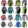 FOX Mens Off-Road Racing Jerseys Motocross Mountain Long Sleeve Bike Clothing