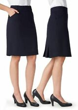 Viscose Knee-Length Solid Regular Size Skirts for Women