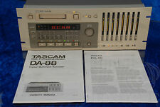 ►TASCAM DA 88◄REGISTRATORE MULTITRACCIA 8 TRACK DIGITALE PROFESSIONALE MASTER