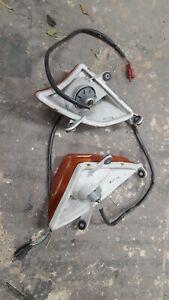 HONDA CBR 1000F 1989-1992 (SC24) mixed, miscellanous parts. mirror. handle, etc.