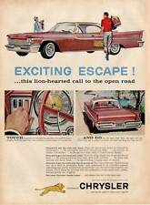 1959 Chrysler Push-Button TorqueFlite Automatic PRINT AD