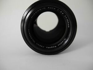 NIKON NIKKOR Q 135/2.8 PERFECT GLASS SMOOTH FOCUS AND APERTURE PERFECT PORTRAIT