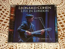 LEONARD COHEN Live in London feat. Hallelujah SONY MUSIC COLUMBIA 2CD NEW SEALED