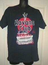 Havana Club El Ron De Cuba 1957 Chevrolet Bel Air Mens T-Shirt One Size EUC RARE