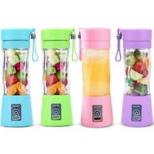 Protable Mini Juicer Cups Single Serve Personal Size Blender USB Recharge 380ml