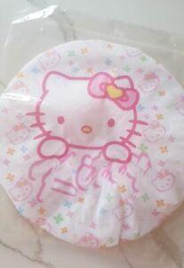 Hello Kitty Heads Bath Shower Cap Waterproof Hat for Ladies, Kids, Children 1 pc