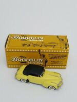 BROOKLIN MODELS 1941 Chrysler New Yorker Convertible Yellow 1:43 Scale BRK. 85
