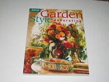 Garden Style Decorating, Bix, Cynthia,0376012315, Book, Good