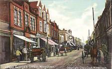 Kingstown. Lower George's Street by Chas. Cook, Kingstown.