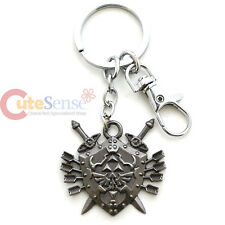 Legend of Zelda Hylian Shield with Sword Arrows Metal Key Chain