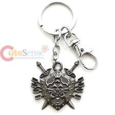 Legend of Zelda Hylian Shield with Sword Arrows Metal Key Chain