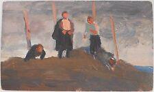 ARMENIAN ART GALLERY-Socialist Realist Painting,Soviet Armenia,Armenie 1954