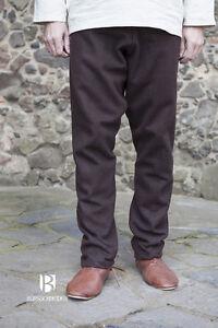 Medieval Thorsberghose Wool Trousers Viking /Larp - Braun From Burgschneider