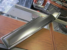 1966 1967 66 67 NOVA SS CHEVY II 4-SPEED CONSOLE CHROME UPPER TOP PLATE