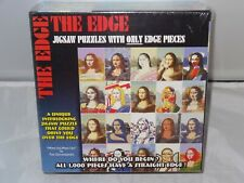 The Edge Mona Lisa 1000 Piece TDC Jigsaw Puzzle With Only Edge Pieces * New