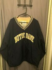 Notre Dame Fighting Irish pullover jacket size adult 2XL by Champion
