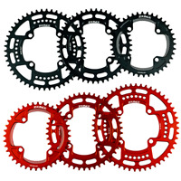 Round Narrow Wide Chainring MTB Mountain Bike 104BCD 32T 34T 36T 38T Plate Parts