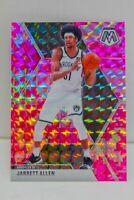 Jarrett Allen 2019-20 CAMO PINK MOSAIC PRIZM Card #21 Brooklyn Nets SP ??