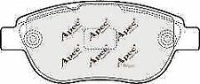 Apec PAD1450 Brake Pad Set FRONT CITROEN C4 PEUGEOT 207 307 PARTNER BOX