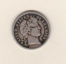 More details for usa 1908o silver dime in good fine condition.