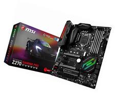 MSI Intel Z270 GAMING PRO CARBON 7th/6th Gen USB2 Motherboard  - Black (Intel Co