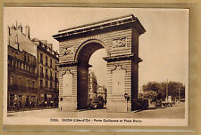 Cpa Dijon - porte Guillaume et place Darcy rp026