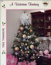 A Victorian Fantasy Tree Trimmers Pattern Leaflet Hats, fans, wreath, butterfly
