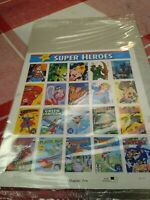 Super Heroes Stamps #4084 -Mint Condition-still in plastic wrapping-never opened