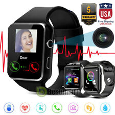 New listing 2021New Bluetooth Smart Watch&Phone with Camera For iPhone Samsung Lg Htc Google