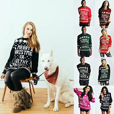 Unisex Christmas Sweater Merry Christmas Ya Filthy Animal Xmas Novelty Jumpers